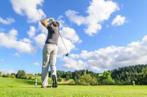 Im Ort finden Sie einen der schönsten Golfplätze in Deutschland.