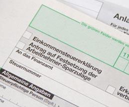 Steuerberater erstellt Einkommensteuererklärung online